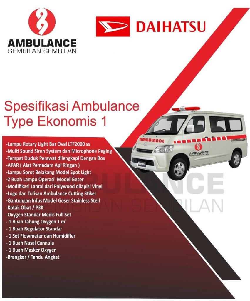 Ambulance Daihatsu Gran max