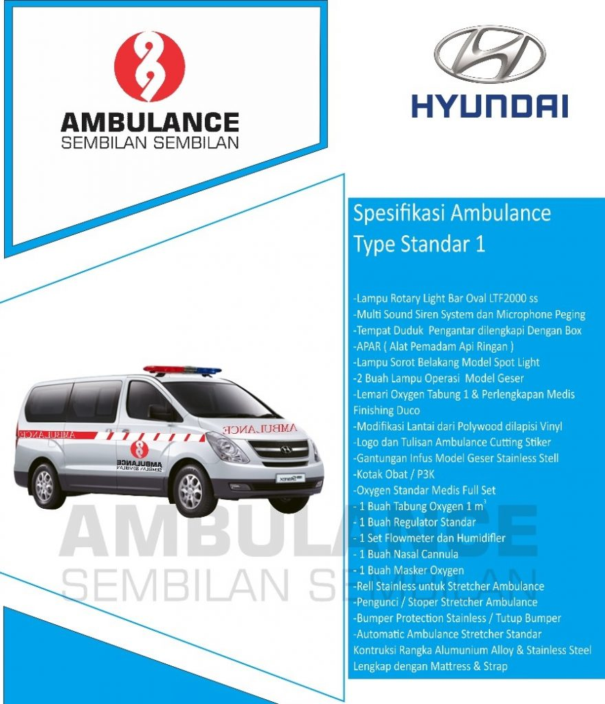 Ambulance Hyundai H1