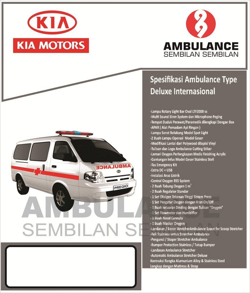 Ambulance Kia Travello