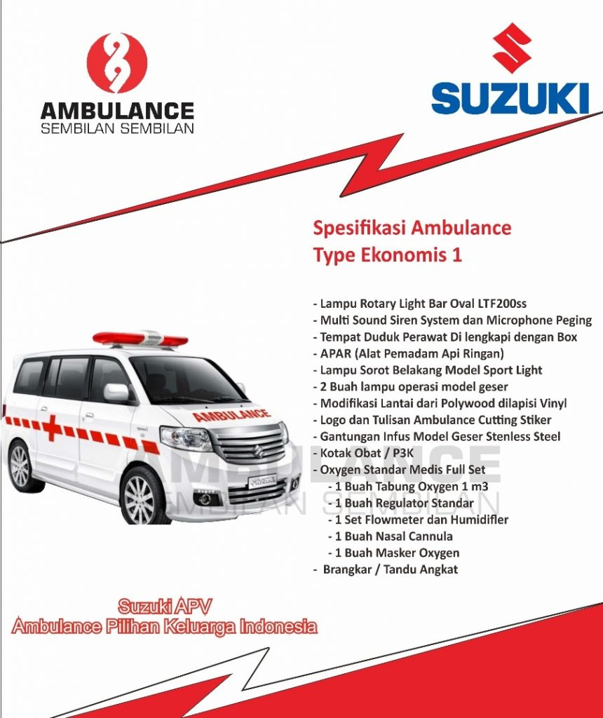 modifikasi ambulance suzuki