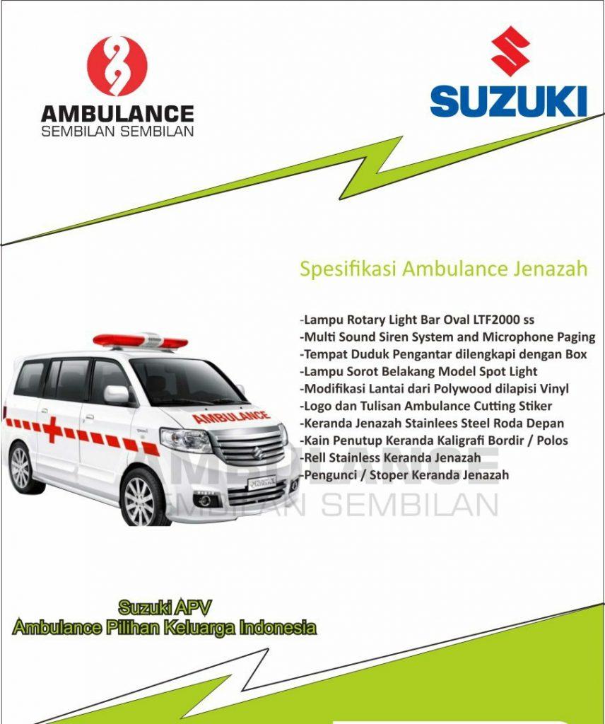 pembuatan ambulance suzuki