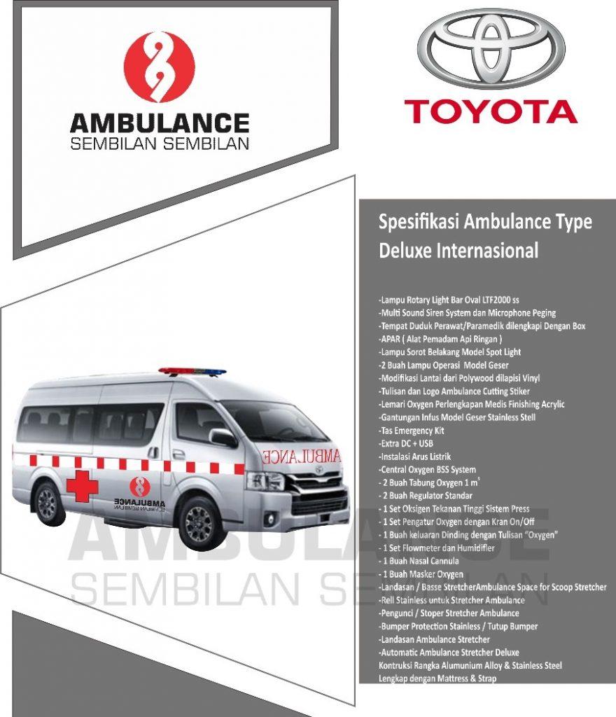 Karoseri Ambulance Toyota