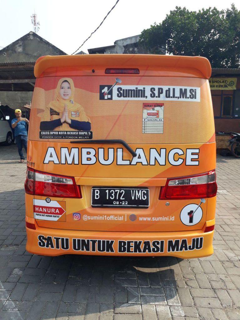 Ambulance Partai Hanura